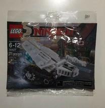 Lego Ninjago Movie Mini Ice Tank 71 Pieces Part Number 30427 New Factory... - $12.37