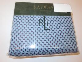 Ralph Lauren Blue Foulard 4P queen Sheet set NIP - $126.05