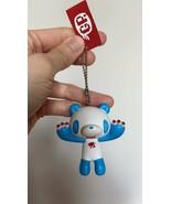 Gloomy Bear Panda White Blue Color Keychain Keyholder Figure Toy Mori Ch... - $11.92