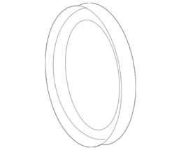 Genuine Mercedes-Benz Timing Cover Seal 014-997-70-46 - $14.91