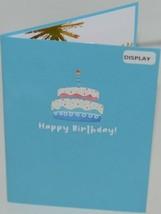 Lovepop LP2552 Rainbow Happy Birthday Cake Pop Up Card White Envelope image 2