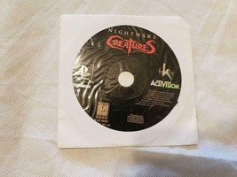 Nightmare Creatures PS1 Playstation 1 - GAME DISC ONLY - $29.60