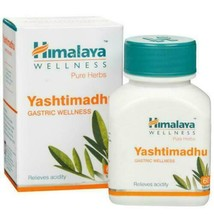 Himalaya Herbal Yashtimadhu Acidity Heartburn Non-ulcer dyspepsia 2X60 T... - $14.84