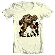 THE RHINO t-shirt vintage Silver Age comic book villain Green Goblin image 2