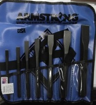 Armstrong 70-562 - 7 pc Cold Chisel Set USA - $37.62