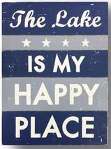 Item - 1117 - The Lake Is My Happy Place' -  Cut Up - size 11 x 17 - rus... - $43.00