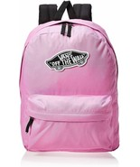 Vans Realm Backpack Fuchsia/Pink One Size Laptop bag skate off the wall - $46.74