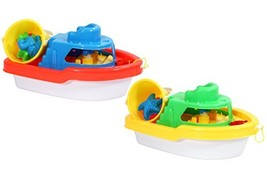 Water Sports Itza Sand Boat with Bucket Pool and Beach Toys Colors May Vary