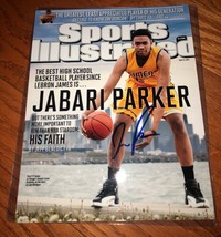 JABARI PARKER SIGNED AUTOGRAPHED 8x10 SI PHOTO  - £75.63 GBP