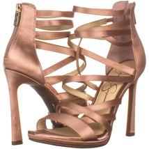 Jessica Simpson Palkaya Strappy Sandals 222, Nude Blush, 6 US / 36 EU - $33.59