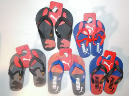Puma Toddler Boys Flip Flop Sandals Various Choices Sizes 9, 10, 11 or 1... - £8.09 GBP