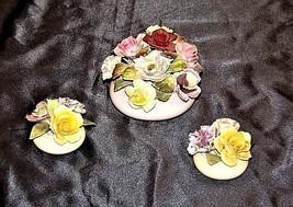 Royal Adderley Floral Boutique (England) AA18 - 1068 3 Piece Vintage image 2