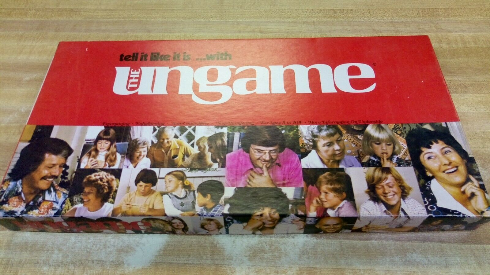 Primary image for The Ungame Vintage 1975 Family Board Game Tell it Like it Is