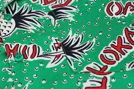 Men's Casual Tropical Hawaiian Luau Aloha Revere Beach Button Up Dress Shirt image 13