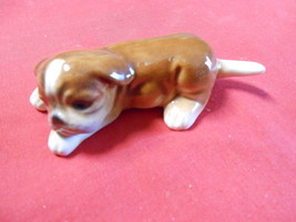 Real Cute Vintage GOEBEL W.Germany BOXER Puppy Dog Figurine................ - $23.76