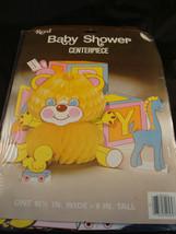 Reed Baby shower Centerpiece Die Cut Honeycomb bear & blocks  baby shower - $4.21
