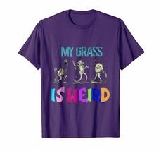 Teacher Style - My Grass is Weird Funny Bluegrass Music Jewel Tone Shirt Men - $19.95+