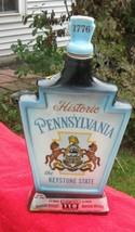 "Vintage 1967 Jim Beam Bottle:  Historic Pennsylvania ""The Keystone State"" - $24.70"