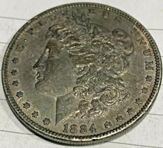 1884-P Morgan Silver Dollar--Good details toned Philadelphia Minted Morgan - $54.95