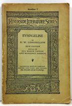 Evangeline A Tale of Acadie Riverside Literature Series No. 1 - $4.99