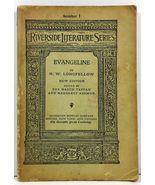 Evangeline A Tale of Acadie Riverside Literature Series No. 1 - $4.99