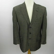 Joseph Abboud Mens Sport Coat Size 40R 3 Button Silk Wool Nordstom Made ... - $30.84