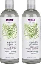 Now Foods - 16 fl oz Vegetable Glycerine (Pack of 2) - $24.43