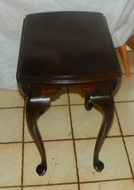 Cherry Dropleaf End Table / Side Table by Ethan Allen  (RP) - $299.00