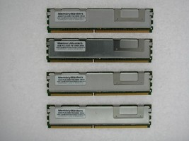 Not For Pc! 16GB 4x4GB PC2-5300 FB-DIMM Memory Supermicro Super X7DWA-N Tested - $27.71