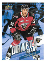 An item in the Sports Mem, Cards & Fan Shop category: 2019-20 Justin Sourdif Upper Deck CHL Rookie Draft Ready - Vancouver Giants