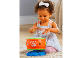 Little Tikes Musical Spin n Hit Drum Musical Instruments Toys NEW - $37.35