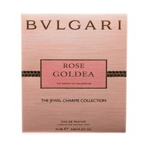 Bvlgari Rose Goldea The Jewel Charms Collection Eau De Parfum Spray 25ML BV50201 - $49.01
