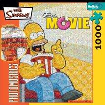 Buffalo Games Simpsons Photomosaic: Movie Homer - $39.59