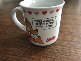 VTG Little Orphan Annie Coffee Cup Mug 1982 Knickerbocker Toy Co Applause - $9.49
