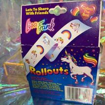 Vintage Lisa Frank Rollouts 90s Markie Unicorn YAY HTF Good Condition image 4