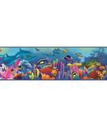 Ocean Underwater Garden & Sea Life Chesapeake Wallcovering BBC46351B - $20.54
