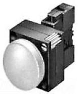 3SB3248-6BA40 PILOT LIGHT - PILOT LIGHT,GRN,FV, LED,110V,RINGS,CMPLT - $42.04