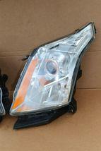 2010-15 Cadillac SRX Halogen Headlight Head Light Set LH & RH - POLISHED image 3