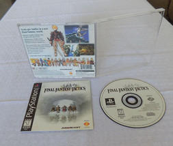 Final Fantasy Tactics CIB black label great shape tested PS1 Playstation - $39.95