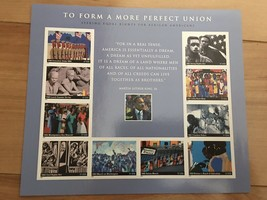 USPS To Form A More Perfect Union. Mint 37c. 10 stamps in one sheet. 2005 - $7.50