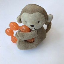 Carters Child of Mine Monkey Teether Plush Baby Toy - $11.87