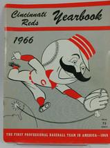 1966 Cincinnati Reds Redlegs Baseball Yearbook MLB - $24.67
