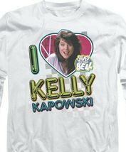Kelly Kapowski Saved by the Bell t-shirt Retro 80's long sleeve T-shirt NBC144 image 3