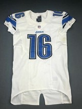 2013 Terrence Austin Game Used Detroit Lions Nike Football Jersey UCLA R... - $168.29