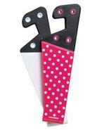 PPointMobi Folding Tablet Stands 2 Pack Pink & White Polka Dot for Tablets - $6.89