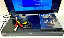 Toshiba SD-K620KU DVD Player, AV Cables & DVD Movie Bundle - No Remote - $19.99