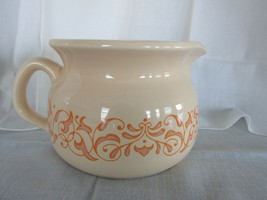 FRANCISCAN Gingersnap Pottery Pitcher Carafe Vintage 1970s 24 oz  EUC - $29.95