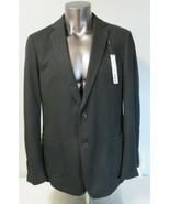 Mens BAR III Black Blazer Sport Coat Jacket Size 44L New Slim Fit Dual Vent - $49.49