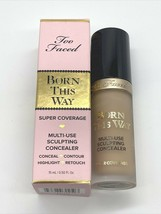 Too Faced Born This Way Super Coverage Sculpting Concealer Natural Beige 0.5oz - $23.67