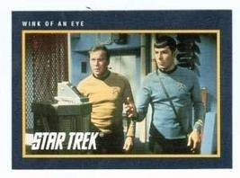 Star Trek card #211 Wink of An Eye Captain Kirk Spock - $3.00